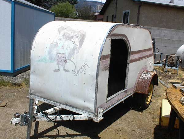 1959 Homemade Teardrop Trailer Project 250 00 Firm
