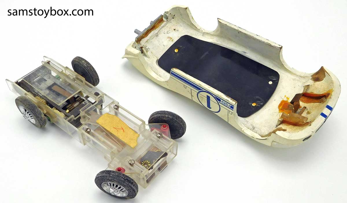 Amaze-A-Matics prototype chassis and Mark IV body