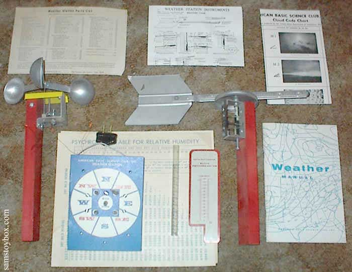 American Basic Science Club Weather Station by American Basic Science Club