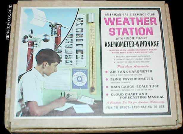 American Basic Science Club Weather Station by American Basic Science Club Box