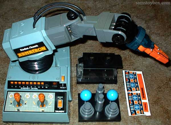 Radio Shack Toys For Boys : Armatron by tandy tomy sam s toybox