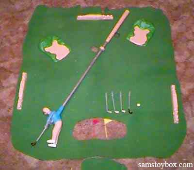 Arnold Palmer\'s Indoor Golf Course by Marx - Sam\'s Toybox