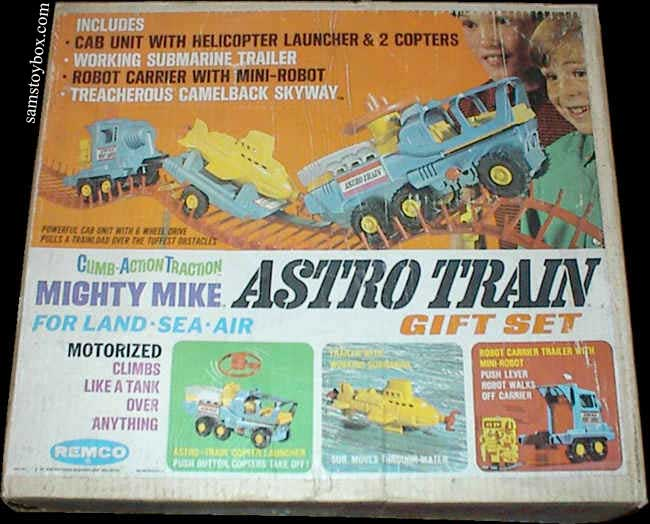 Mighty Mike Astro Train by Remco