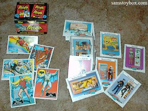 Batman and Classic Toy Trading Cards