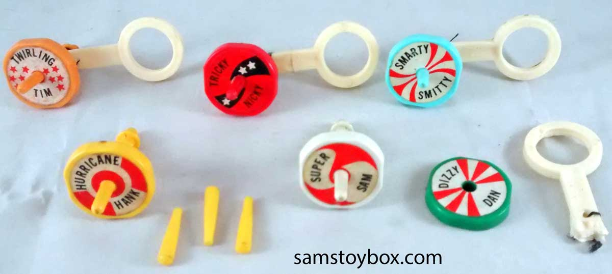 Battling Tops By Ideal Sam S Toybox
