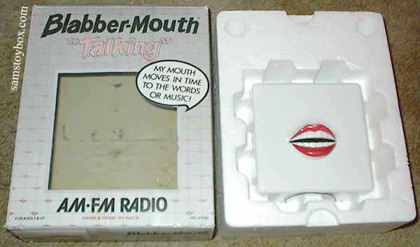 Blabber Mouth Radio with its Box