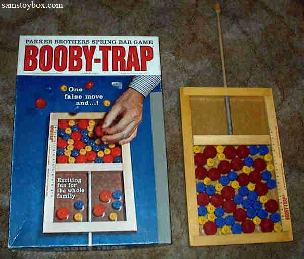 Booby-Trap Game with its Box