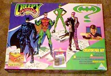 Creepy Crawlers Batman Forever Creator Pak