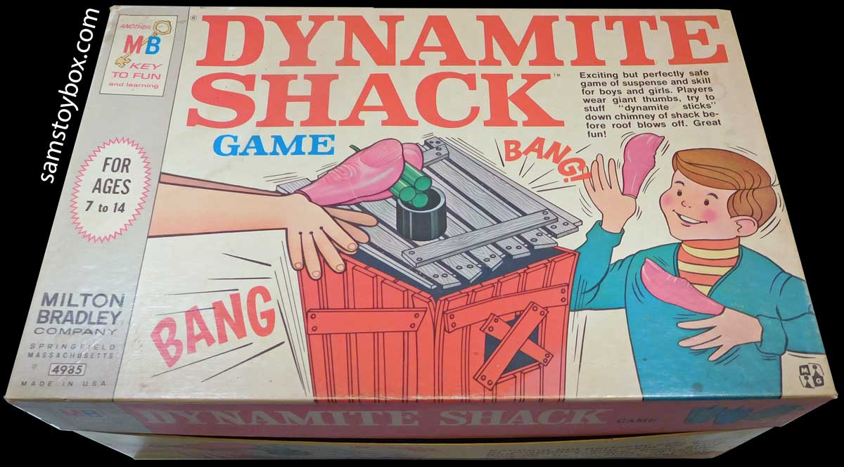 Dynamite Shack Game Box
