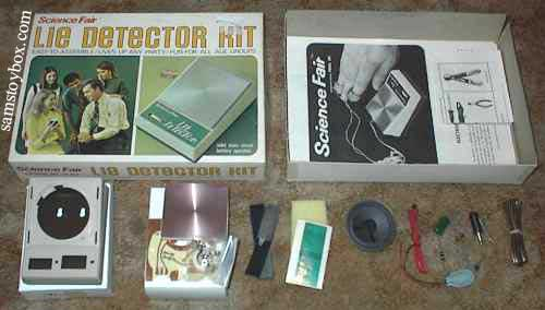 Lie Detector Project Kit