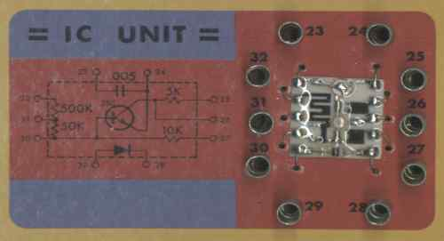 Integrated Circuit from the 100-in-1 kit