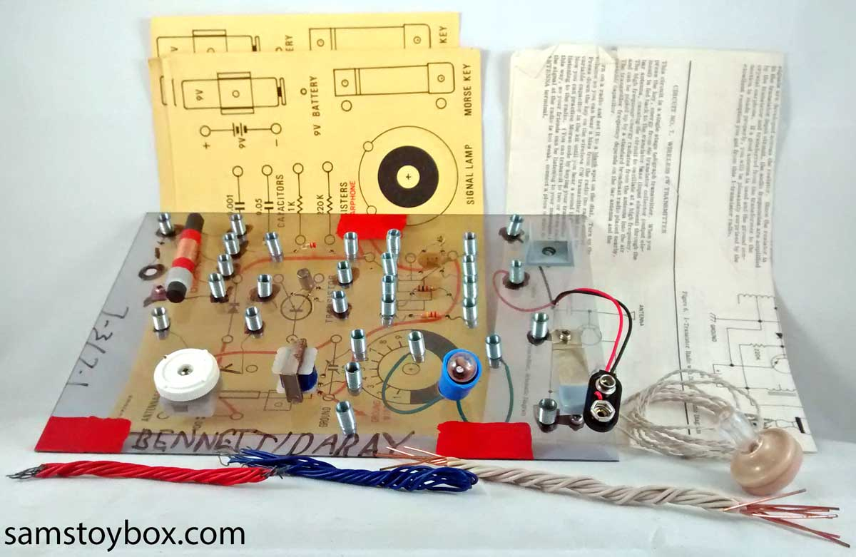Electronics Project Kit by unknown manufacturer