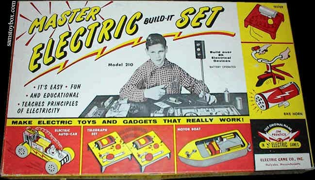 Electric Build-It Master Set Box