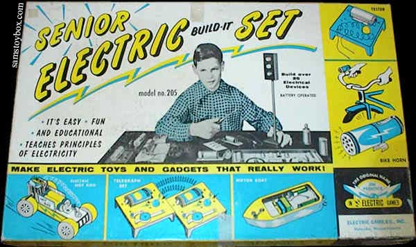 Electric Build-It Senior Set Box