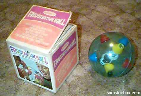 Frustration Ball with its Box