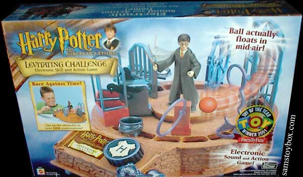 Harry Potter Levitating Challenge Game Box