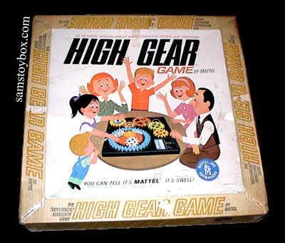 High Gear Game Box