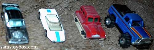 Small collections of Hot Wheels, Matchbox and Stompers