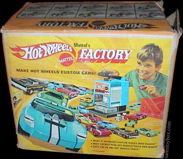 Hot Wheels Factory Box