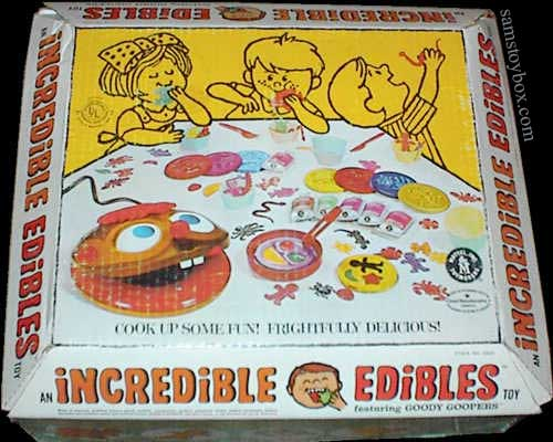 Incredible Edibles by Mattel - Sam's Toybox