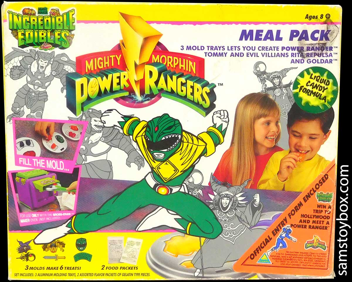 Incredible Edibles Power Rangers