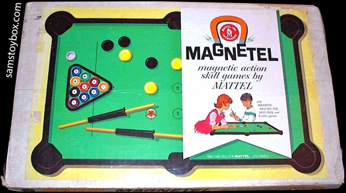 Magnetel Game by Mattel - Box