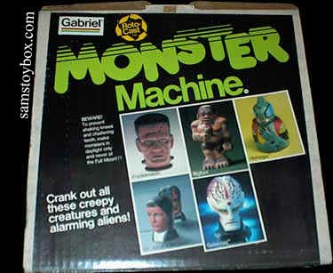 Monster Machine Box Top