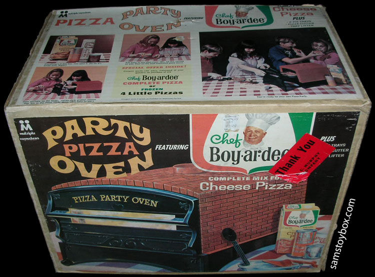 Pizza Party Oven Box