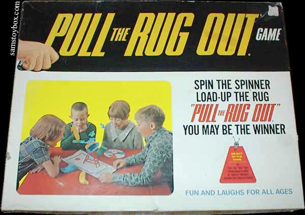 Pull the Rug Out Game by Schaper