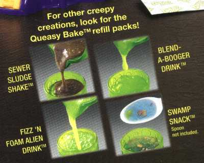 Queasy Bake Mixerator Products