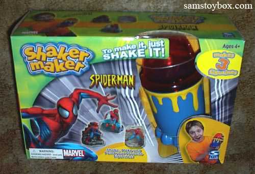 Shaker Maker Spiderman