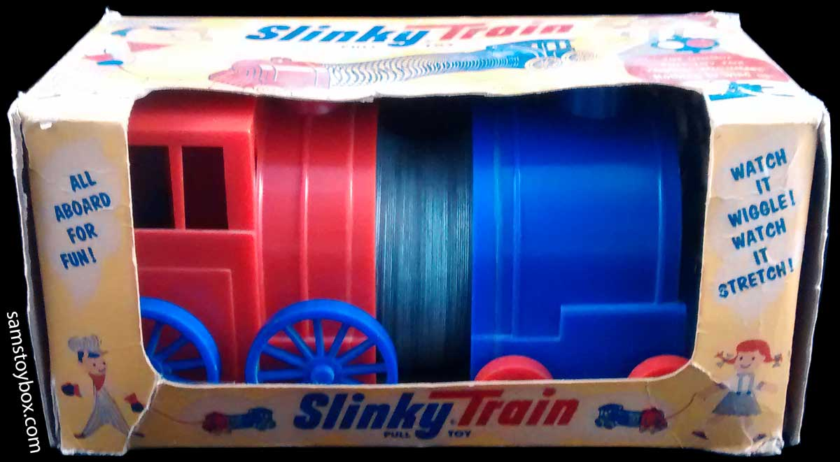 Slinky Train in Box