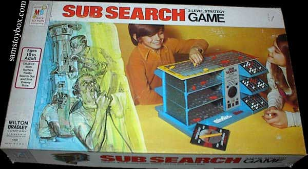 Sub Search Game Box