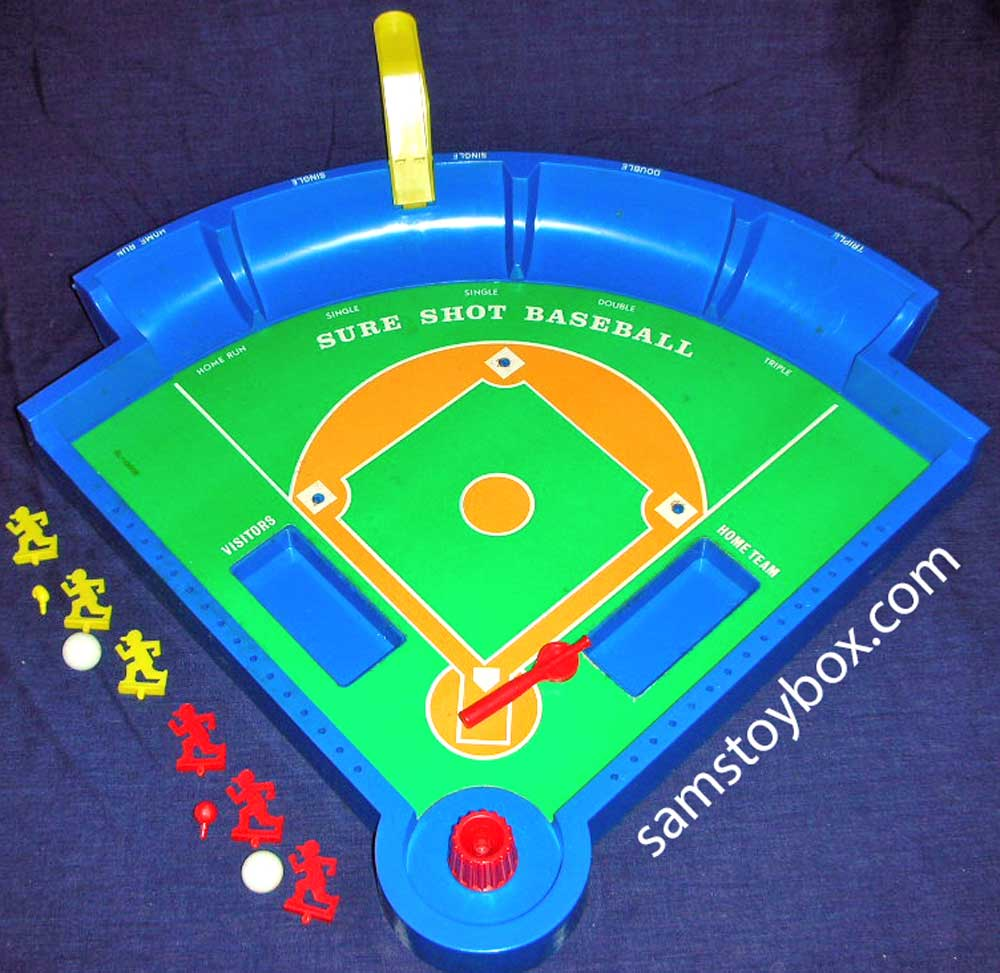 Sure Shot Baseball Game by Ideal