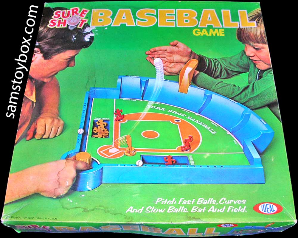 Sure Shot Baseball Game Box by Ideal
