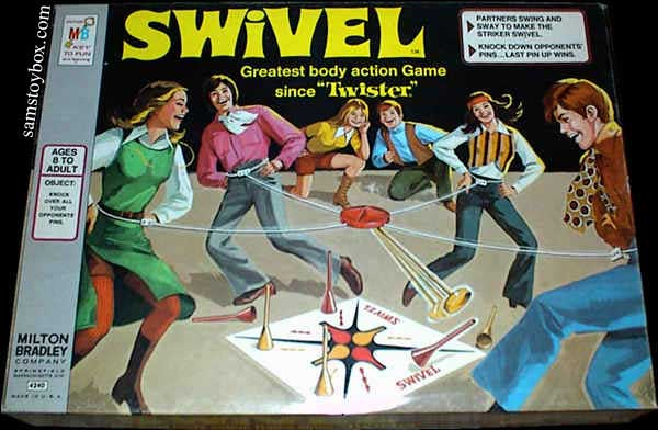 Swivel Game Box