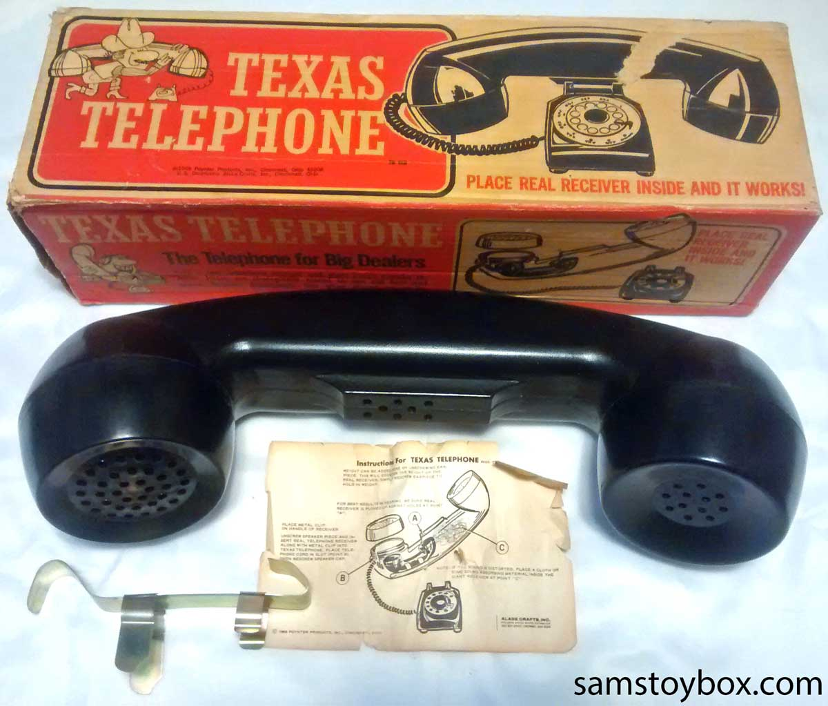 Texas Telephone by Poynter Products