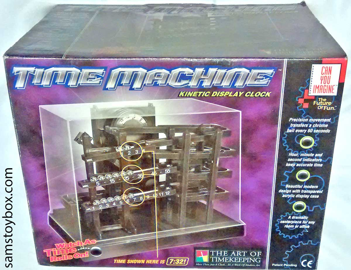 Time Machine Kinetic Display Clock