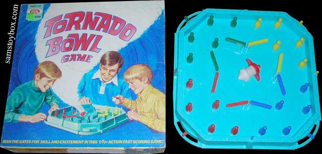 Tornado Bowl Game by Ideal