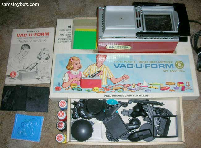 Vac-U-Form by Mattel and Toymax - Sam's Toybox
