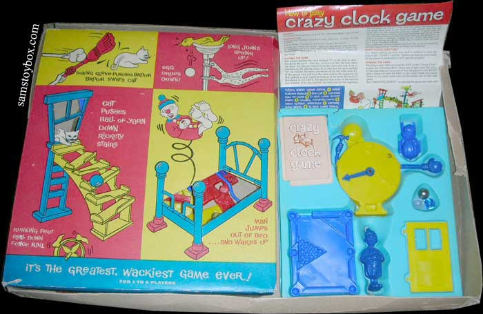 Crazy Clock Game by Ideal - Sam's Toybox