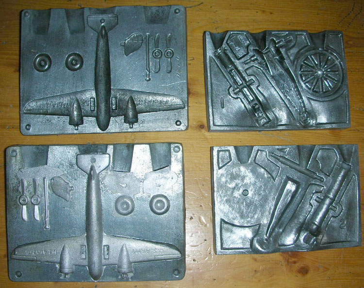 WWII Lead Soldier Casting Set by Rapco - Sam's Toybox