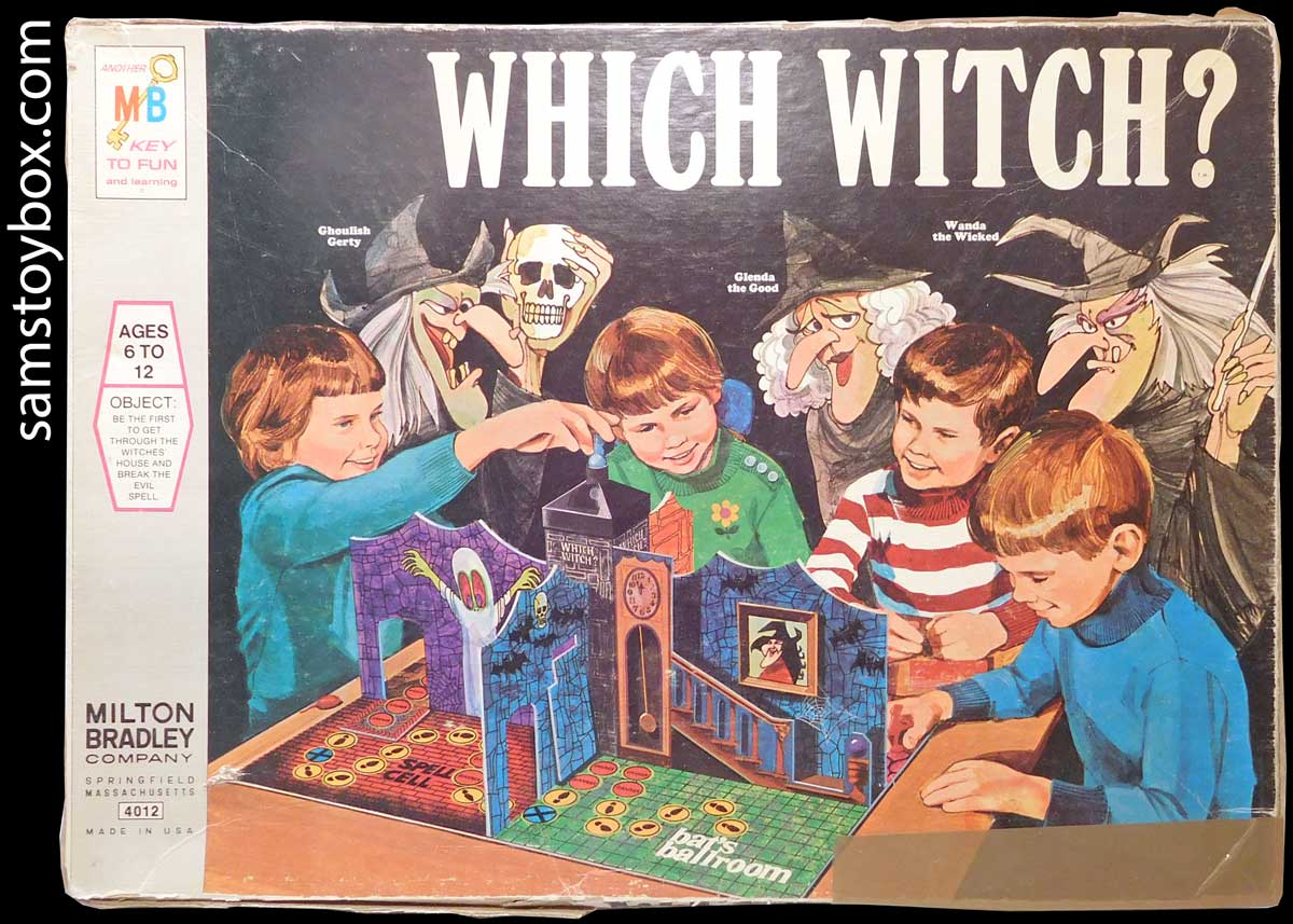 Which Witch Game By Milton Bradley Sam S Toybox